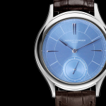 Los fascinantes Laurent Ferrier Galet Micro-rotor Ice Blue