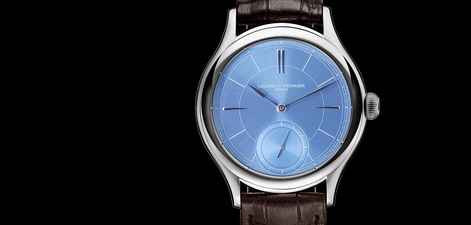Laurent Ferrier Galet Micro-rotor Ice Blue - portada