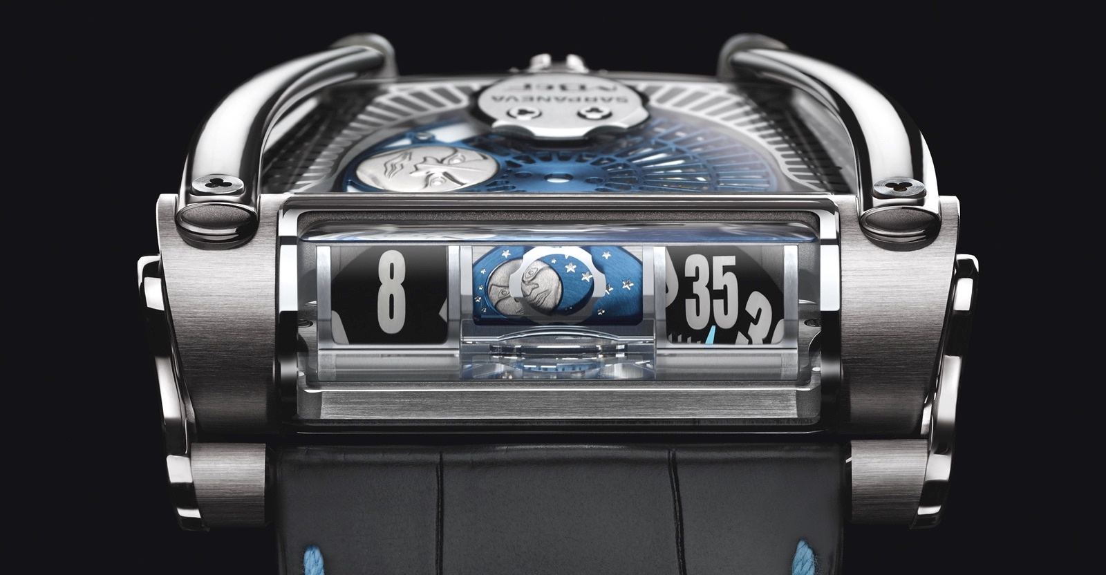 MB&F MoonMachine 2 Detail Face SIHH 2018