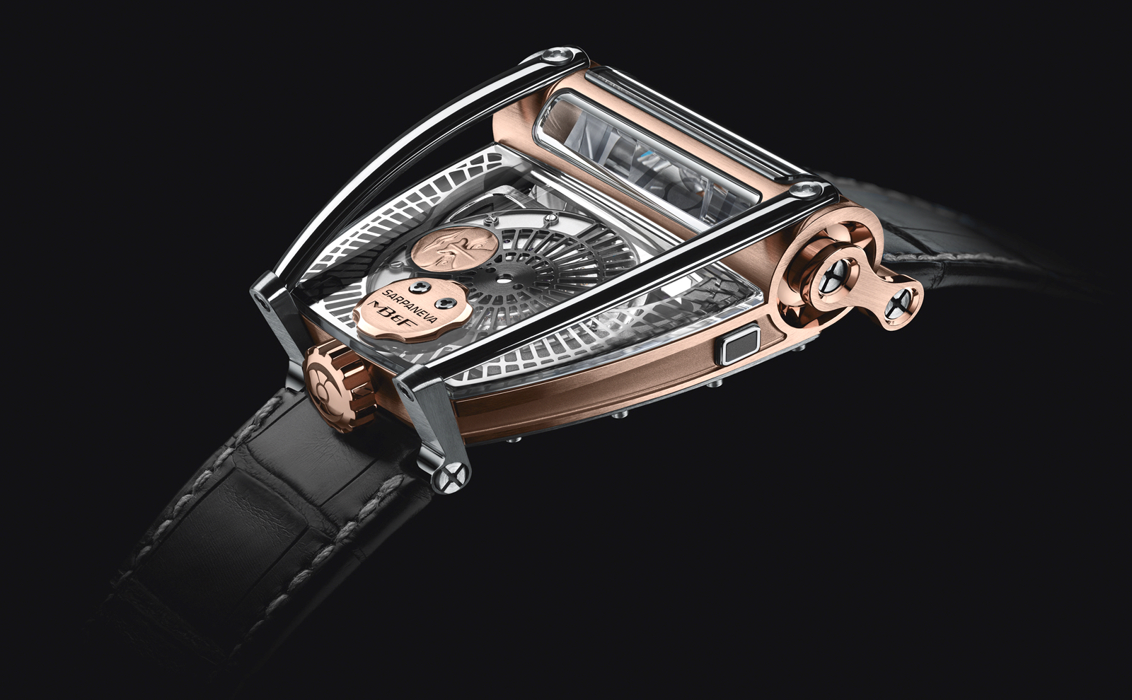 MB&F MoonMachine 2 Ti Red Gold SIHH 2018
