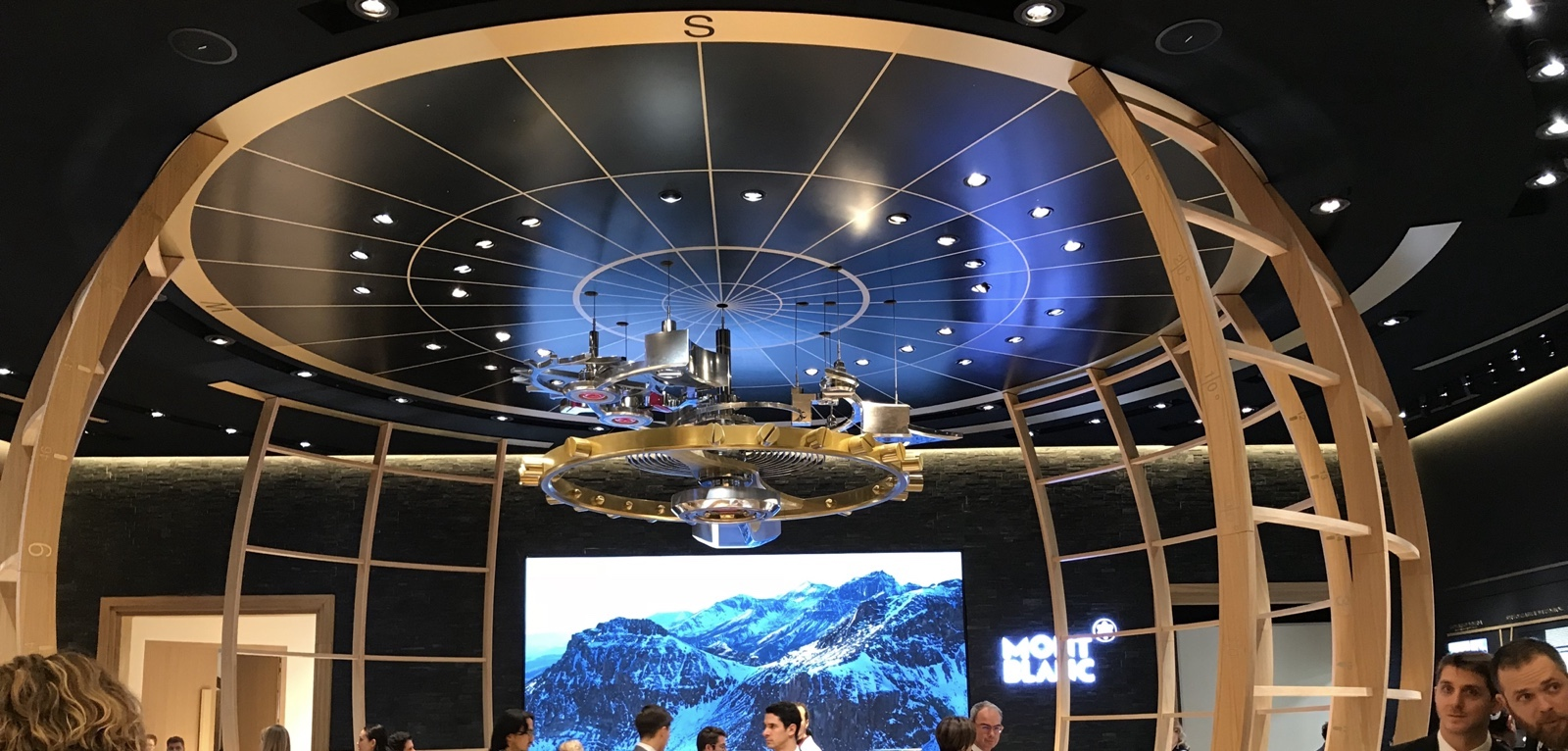 Montblanc Booth SIHH 2018