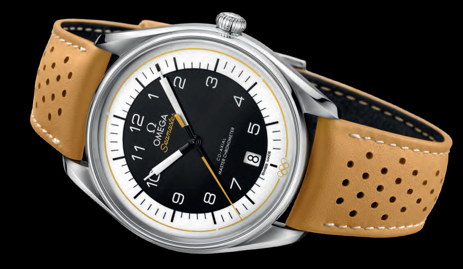 Omega preBasel 2018 Coleccion Seamaster Olympic Games Yellow