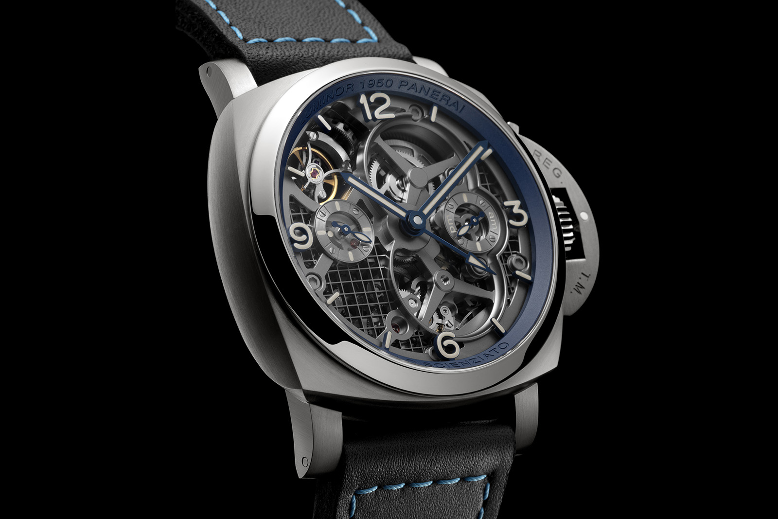 Panerai Lo Scienziato – Luminor 1950 Tourbillon GMT - PAM 767