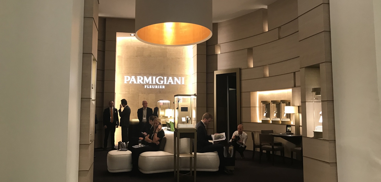 Parmigiani SIHH 2018 - Booth
