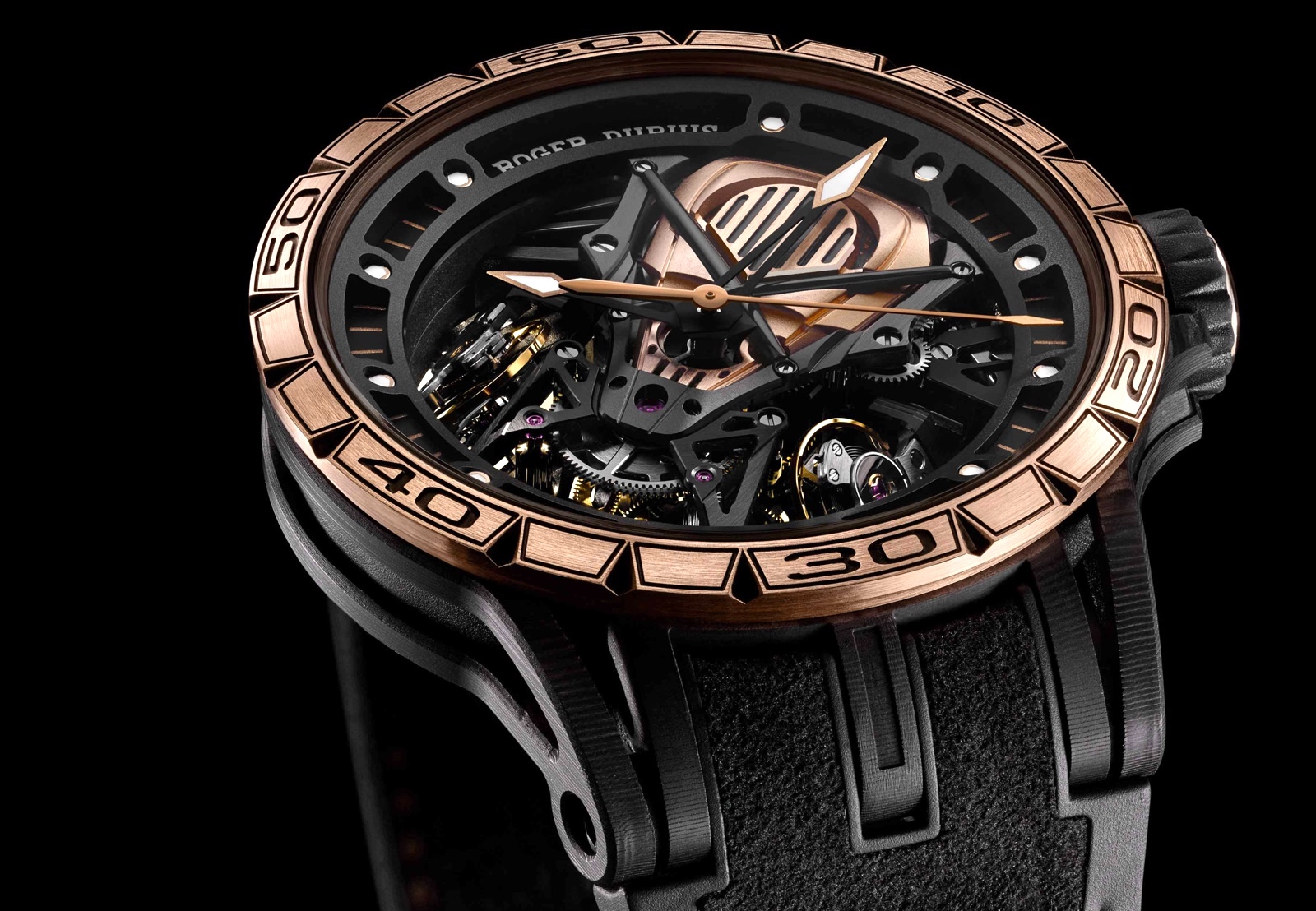Roger Dubuis Excalibur Aventador S Rose Gold SIHH 2018