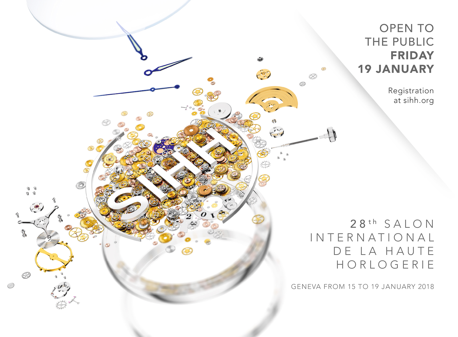 SIHH 2018 - cartel oficial