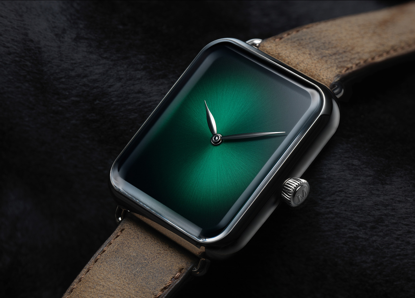 H. Moser Swiss Alp Watch Cosmic Green