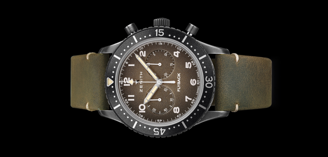 Zenith Pilot Cronometro Tipo CP-2 Flyback - cover