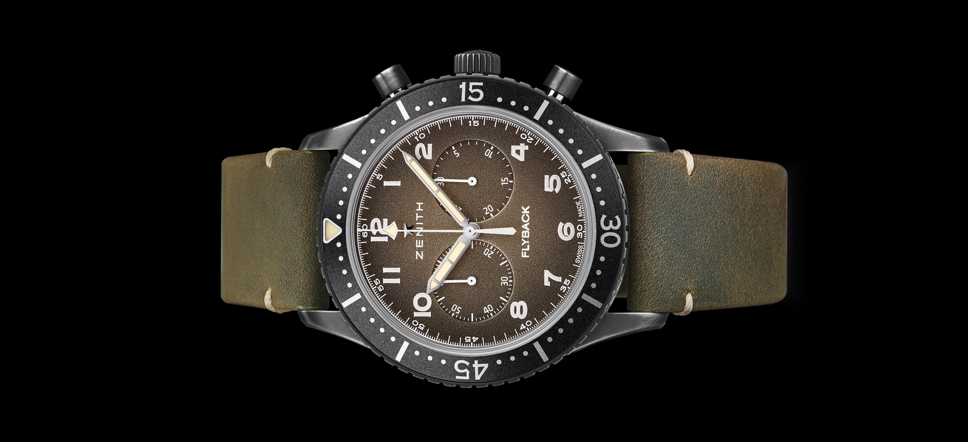 Zenith Pilot Cronometro Tipo CP-2 Flyback - cover
