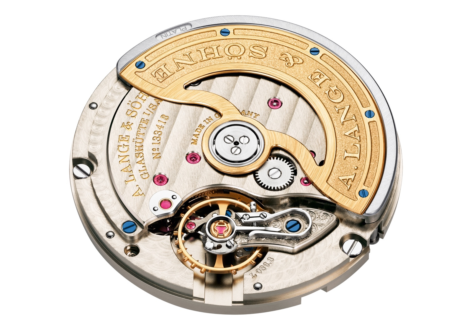 A. Lange & Sohne Saxonia Outsize Date Movement L086.8