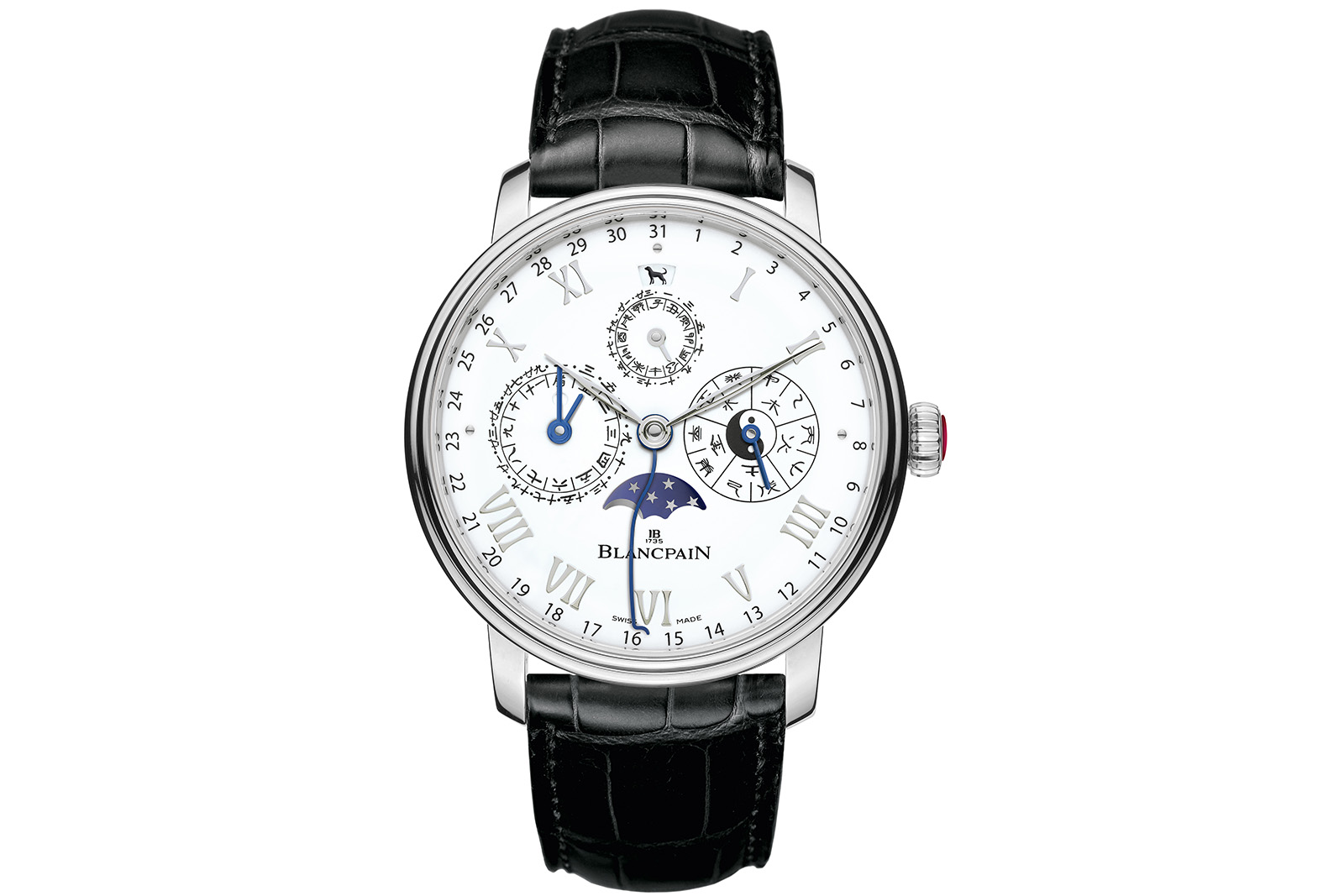 Blancpain Villeret Calendrier Chinoise