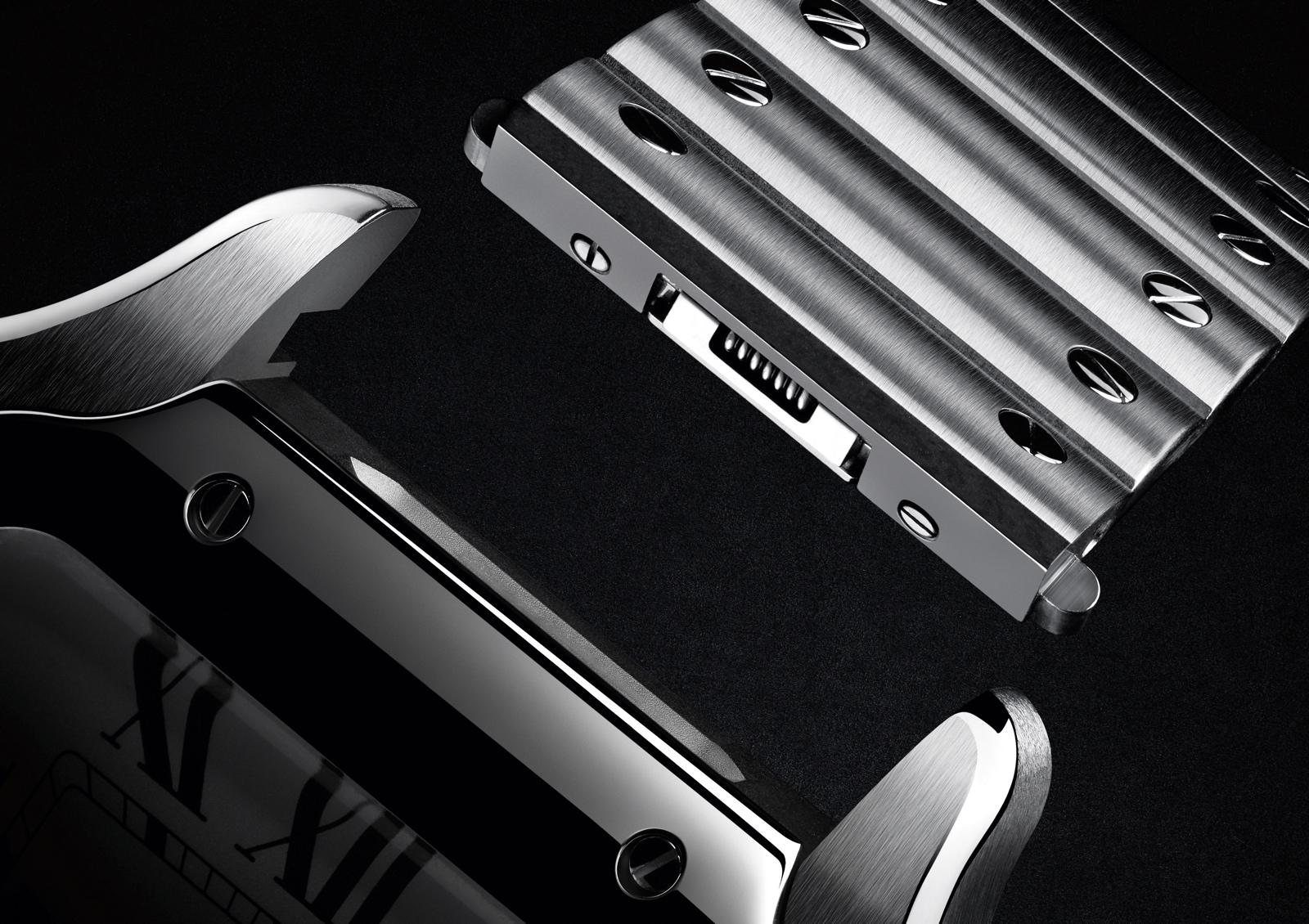 Las tendencias de la Alta Relojería según la FHH - Cartier Santos - ajuste brazalete