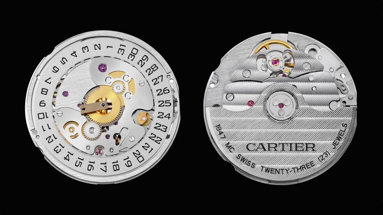 Cartier calibre 1847MC