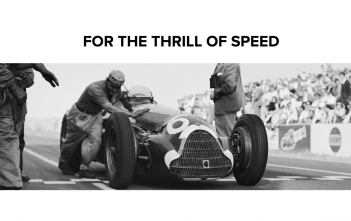 For The Thrill of Speed Cover