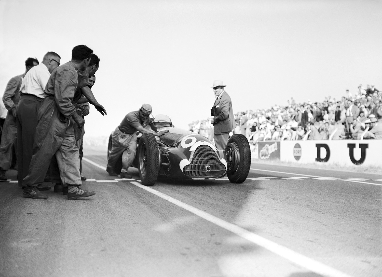 For The Thrill of Speed - Reims 1951