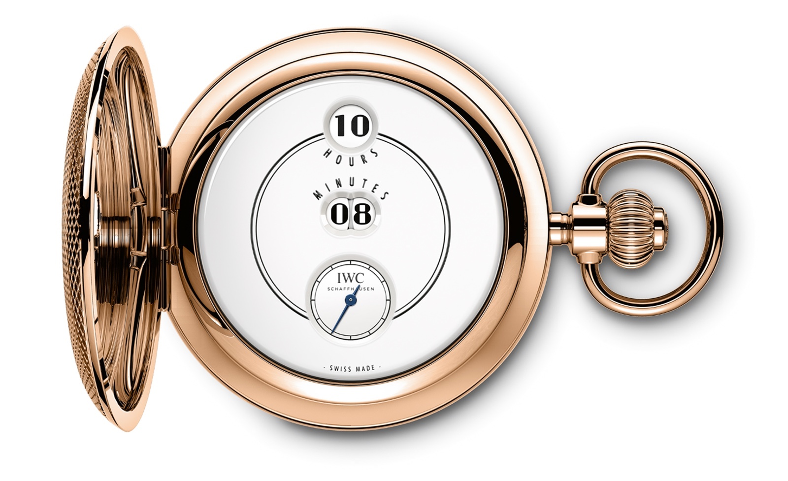 IWC Tribute to Pallweber Pocket Watch Esfera