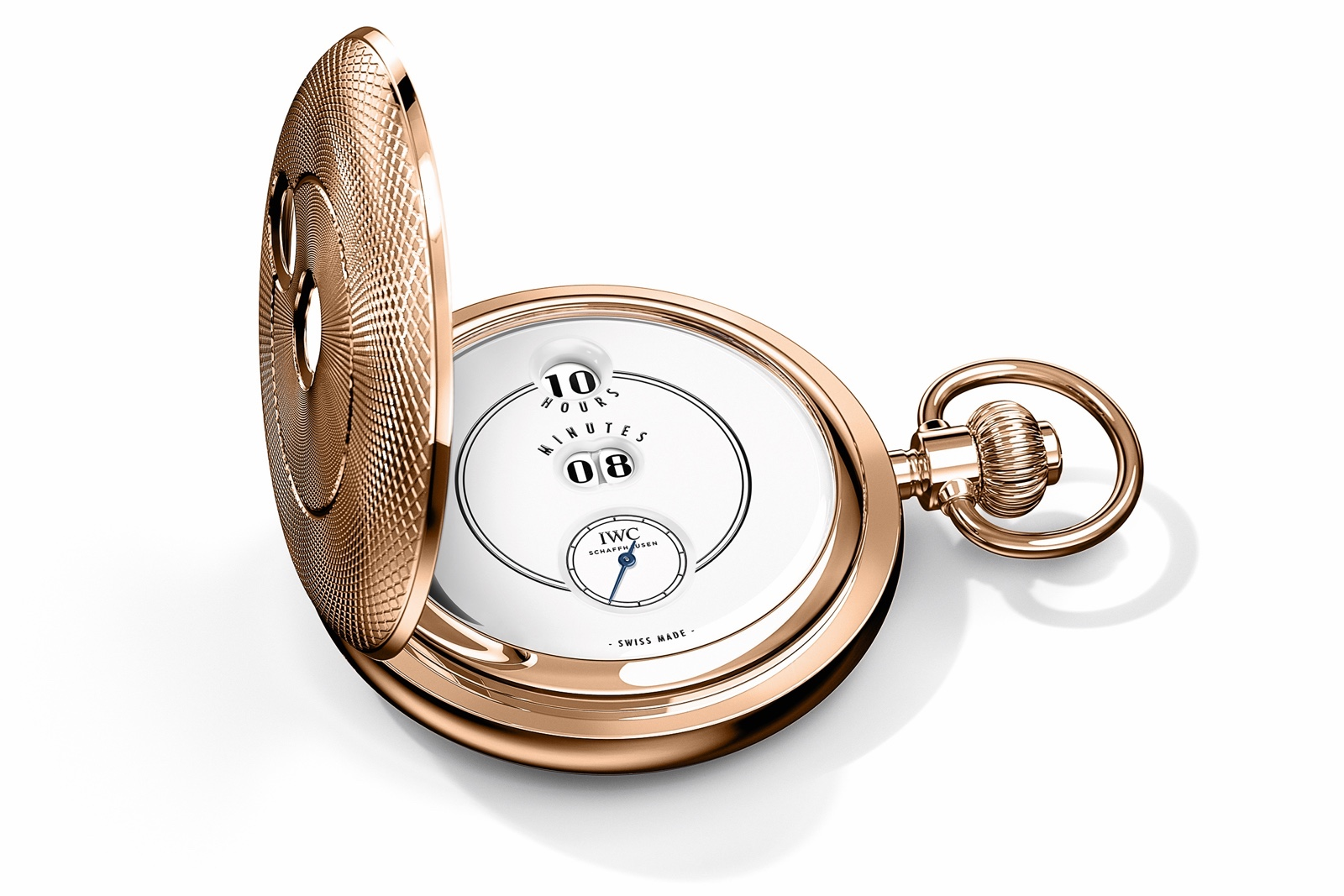 IWC Tribute to Pallweber Pocket Watch