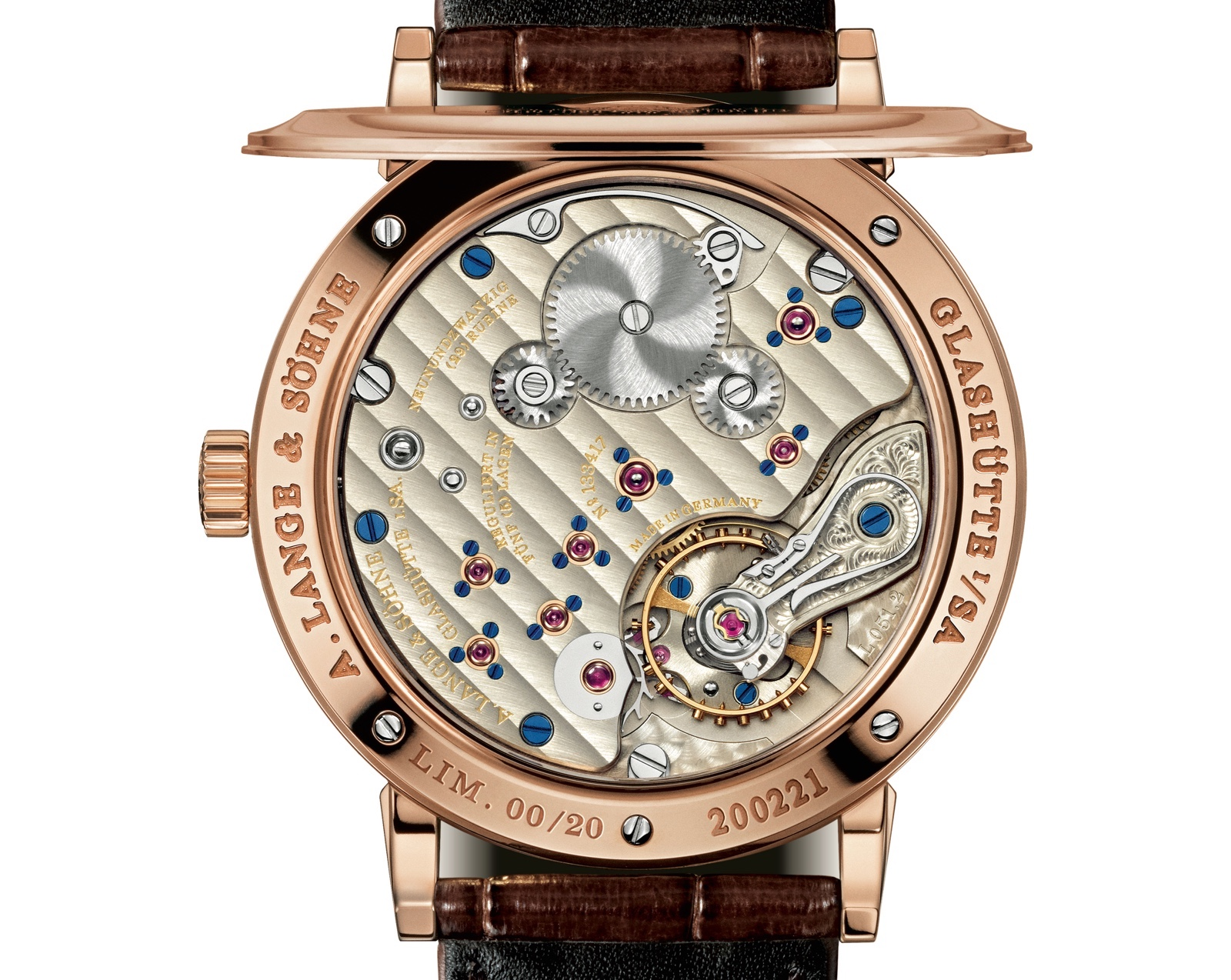Lange 1815 Up Down 75 Años Suarez Caseback