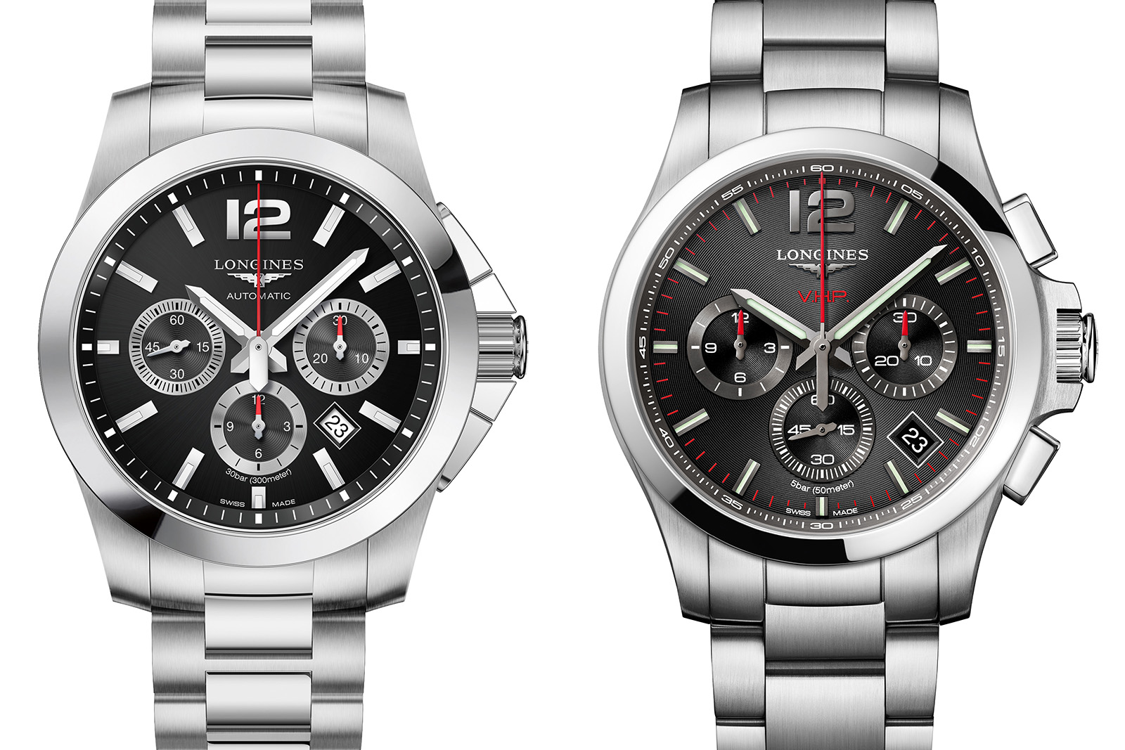 Longines Conquest Chronograph Automatic vs. V.H.P.