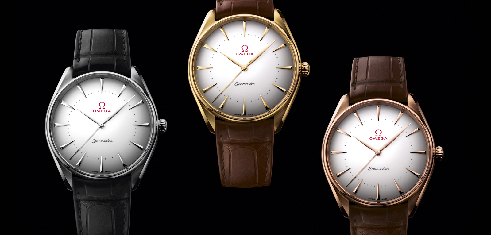 Omega Seamaster Olympic Games Gold Collection.