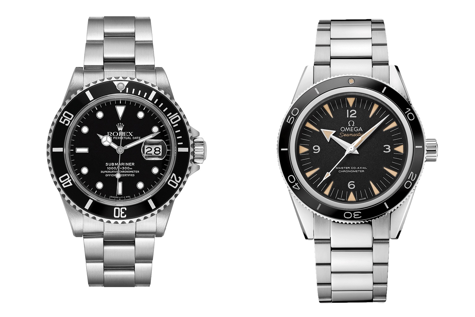Rolex Submariner vs Omega Seamaster 300