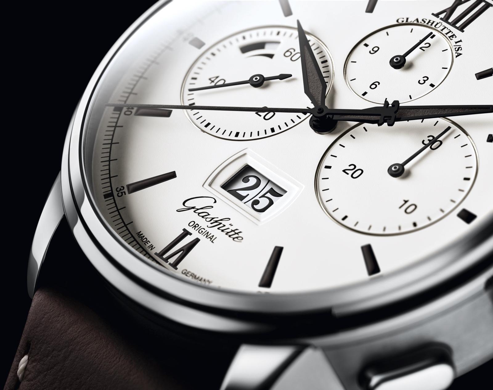 Baselworld 2018 GO Senator Chronograph Panorama Date Detalle