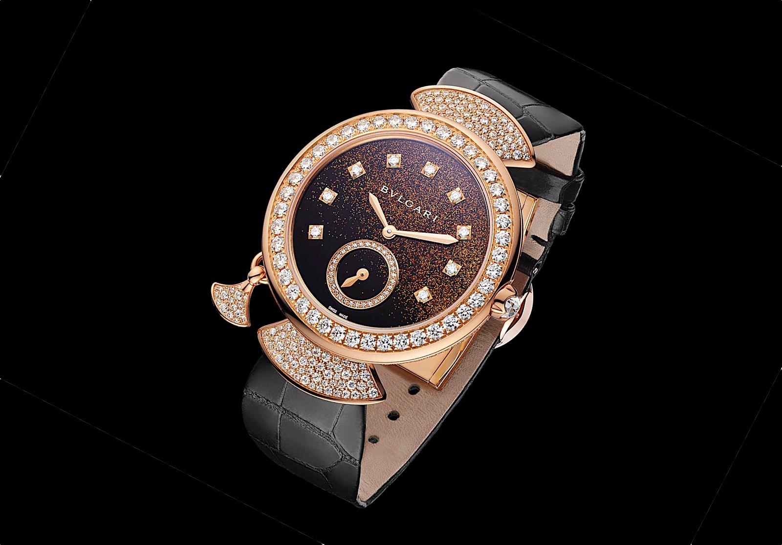 Los relojes femeninos de Bvlgari en Baselworld 2018 - Diva Finissima Minute Repeater