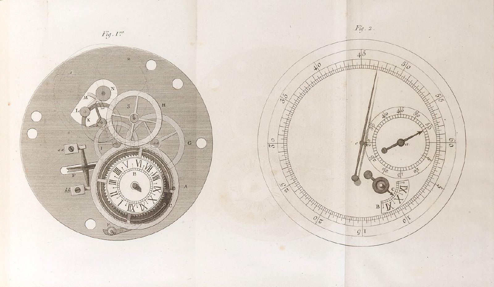 Ferdinand Berthoud Marine Chronomètre nº 7