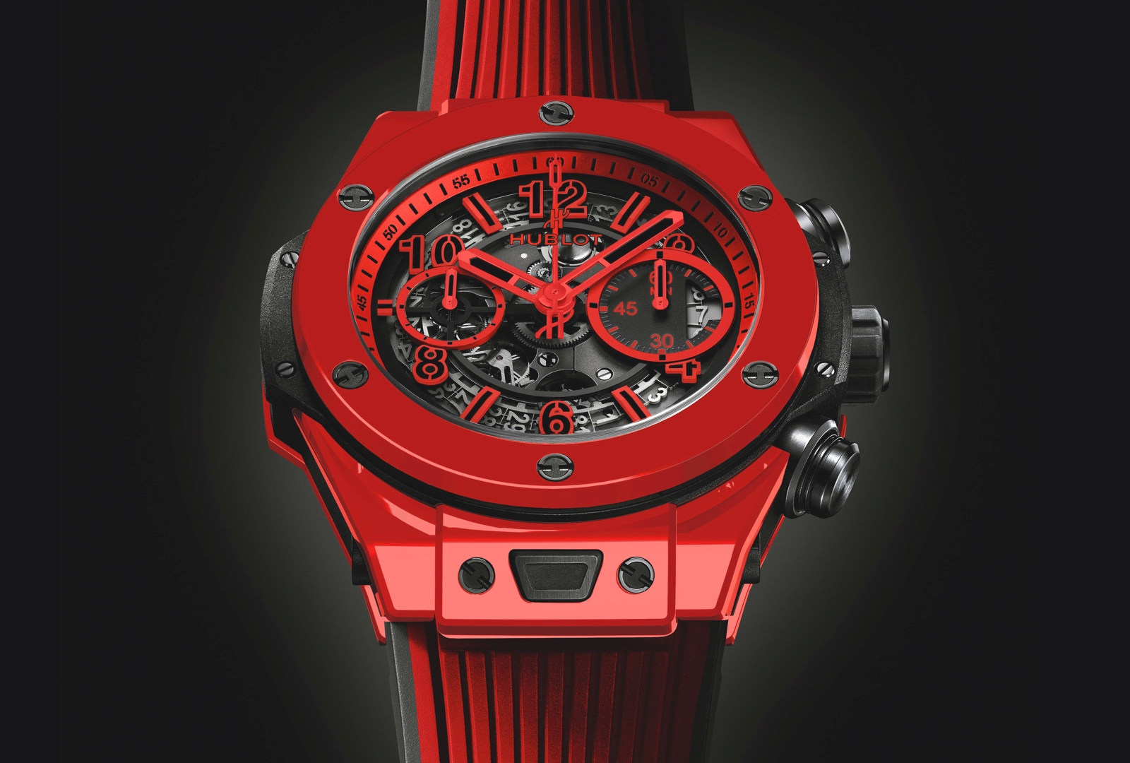 Hublot Big Bang Unico Red Magic - perfil