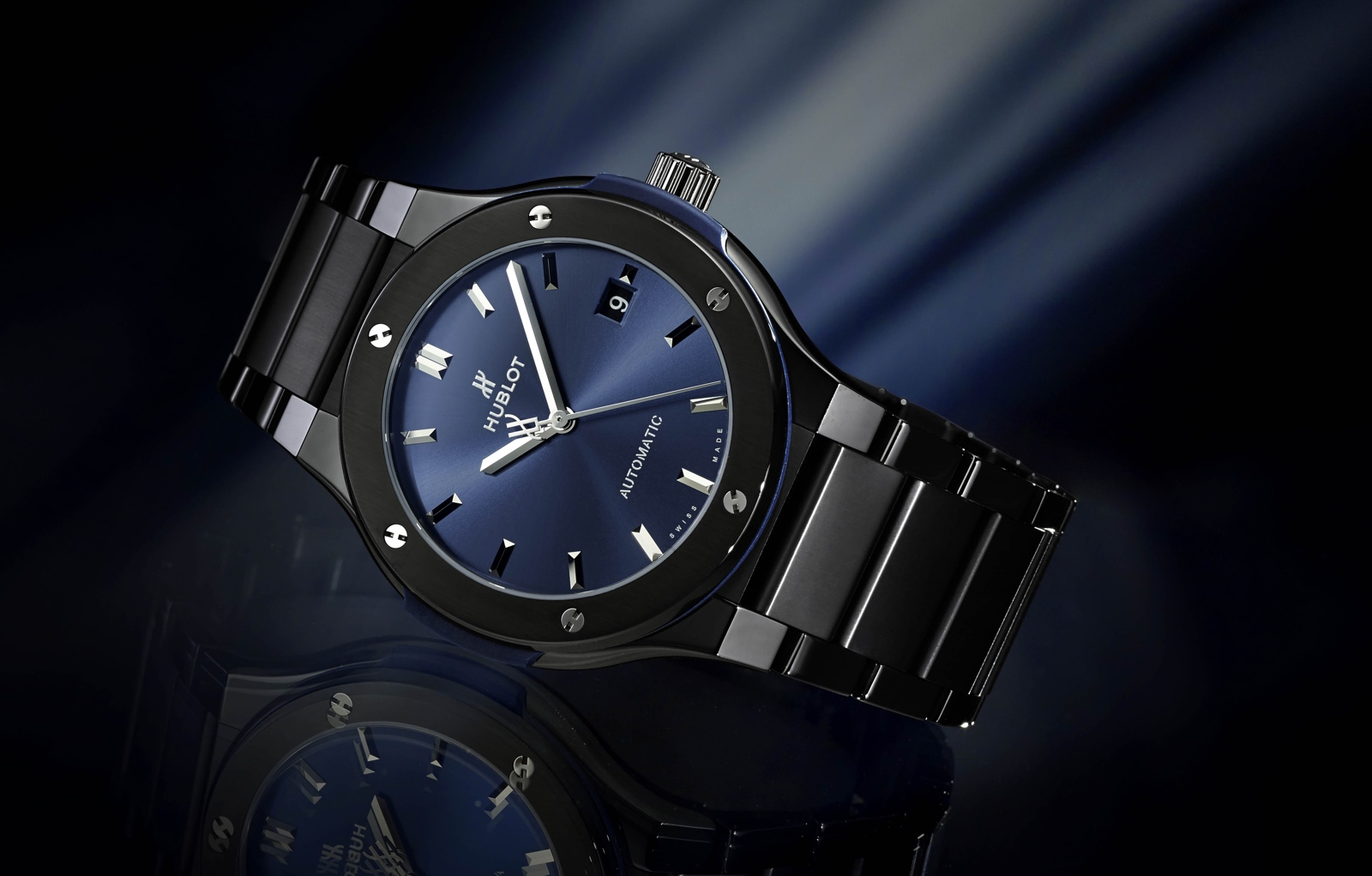 Hublot Classic Fusion All Ceramic - blue