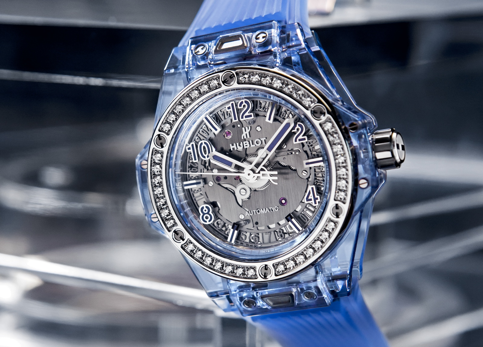 Hublot en Baselworld 2018 - Big Bang One Click Blue Sapphire