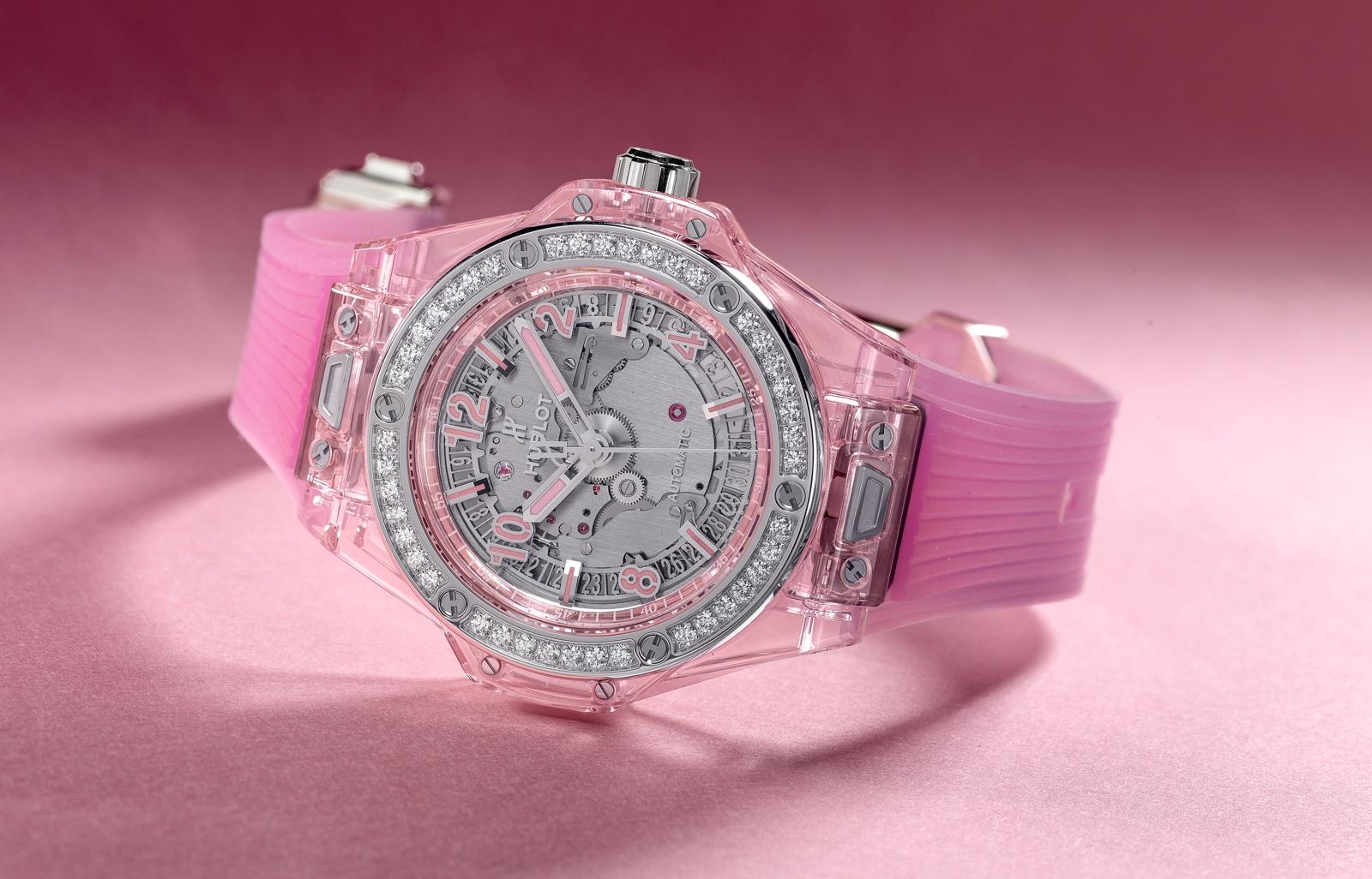 Hublot en Baselworld 2018 - Big Bang One Click Pink Sapphire