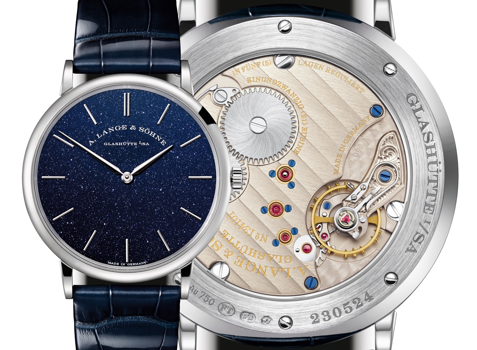 Lange Saxonia Thin Blue Mood