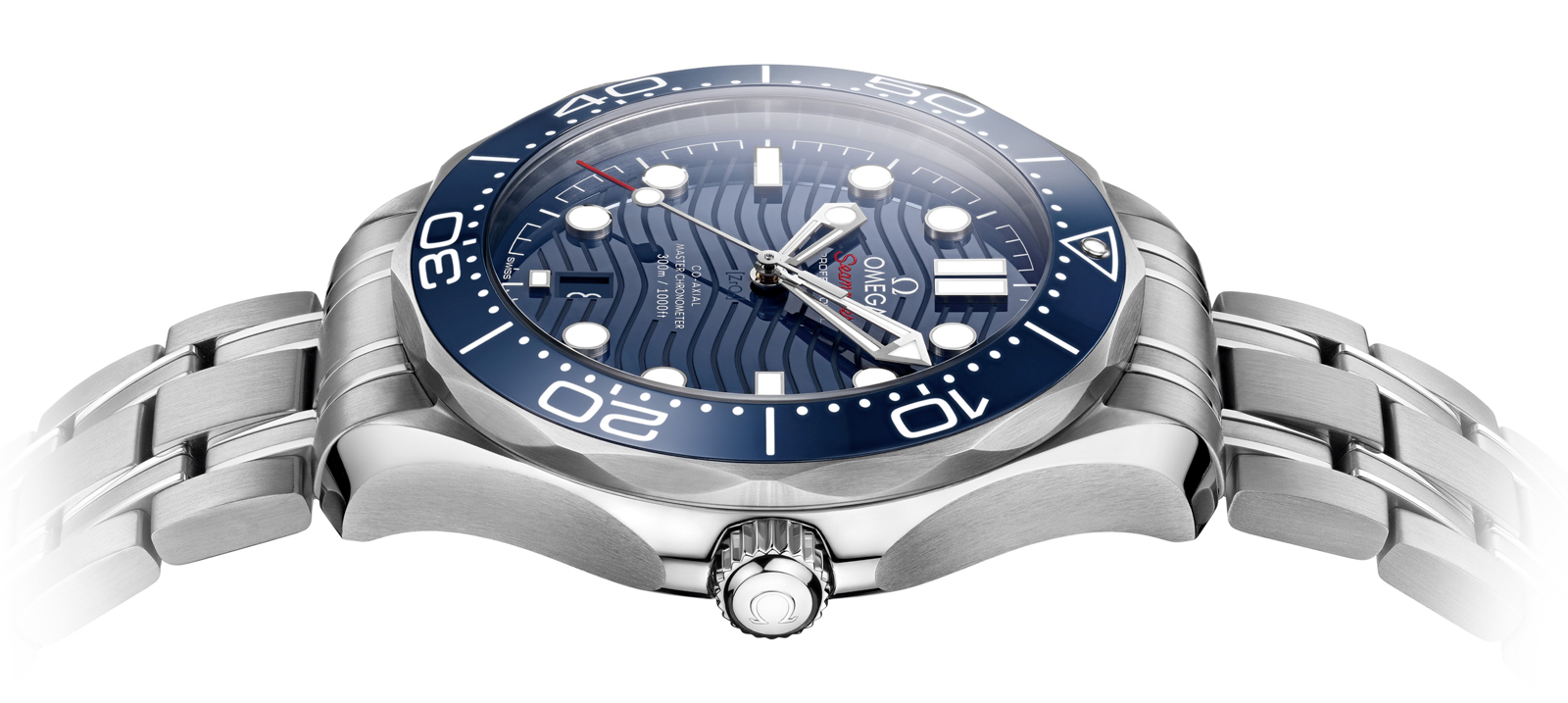 Omega Baselworld Seamaster Diver 300M perfil