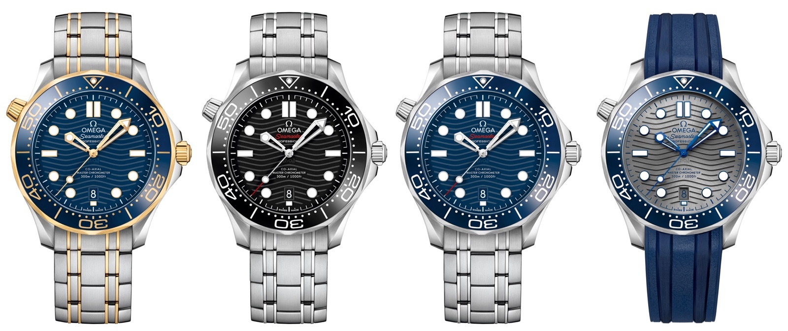 Omega Baselworld Seamaster Diver 300M referencias