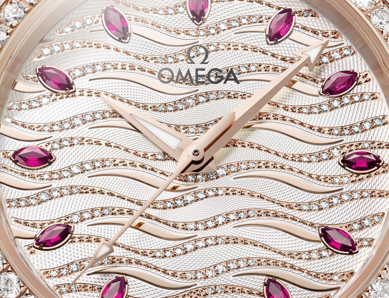 Omega Seamaster Aqua Terra Jewellery Esfera