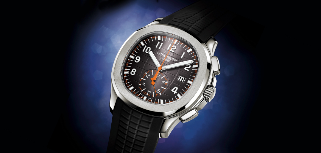 Patek Philippe en Baselworld 2018 - Aquanaut Chronograph 5968A cover