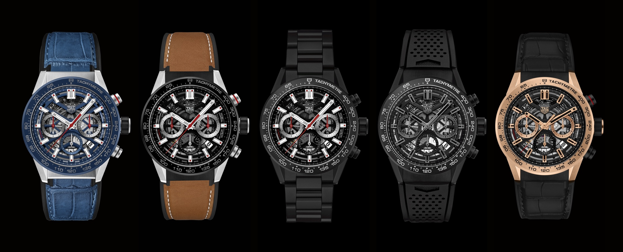 TAG Heuer Carrera Heuer 02 Manufacture - collection