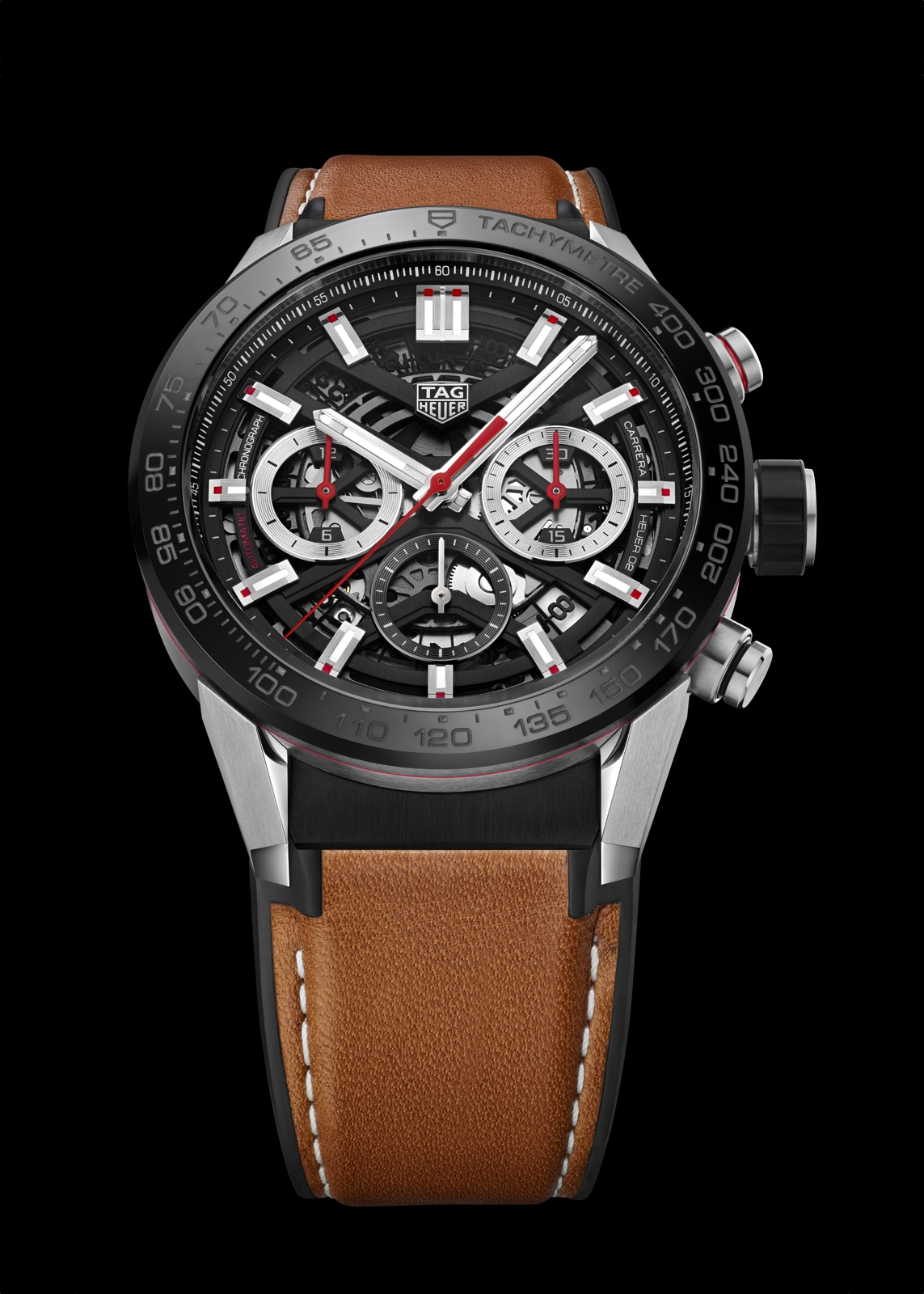 TAG Heuer Carrera Heuer 02 Manufacture - steel black