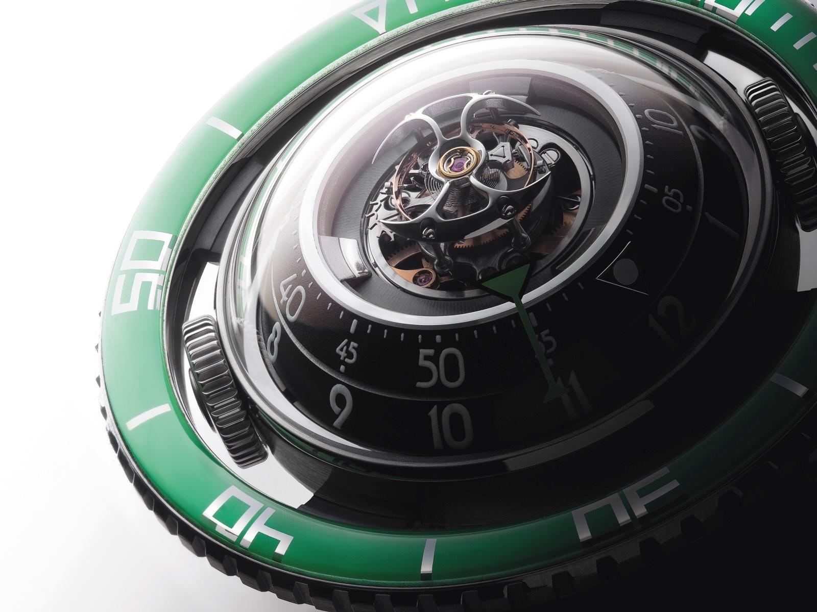 Aquapod Titanium Green Detalle