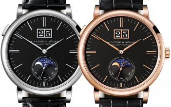 Lange Saxonia Moon Phase 2018 Cover