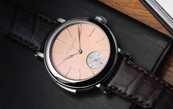 Laurent Ferrier Galet Répétition Minutes Montre École - cover