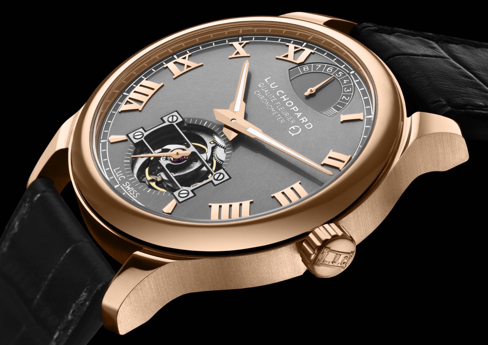 El primer reloj fabricado con oro Fairmined, el L.U.C Tourbillon QF Fairmined