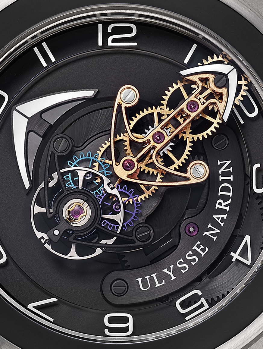 Ulysse Nardin Freak Out - black gold