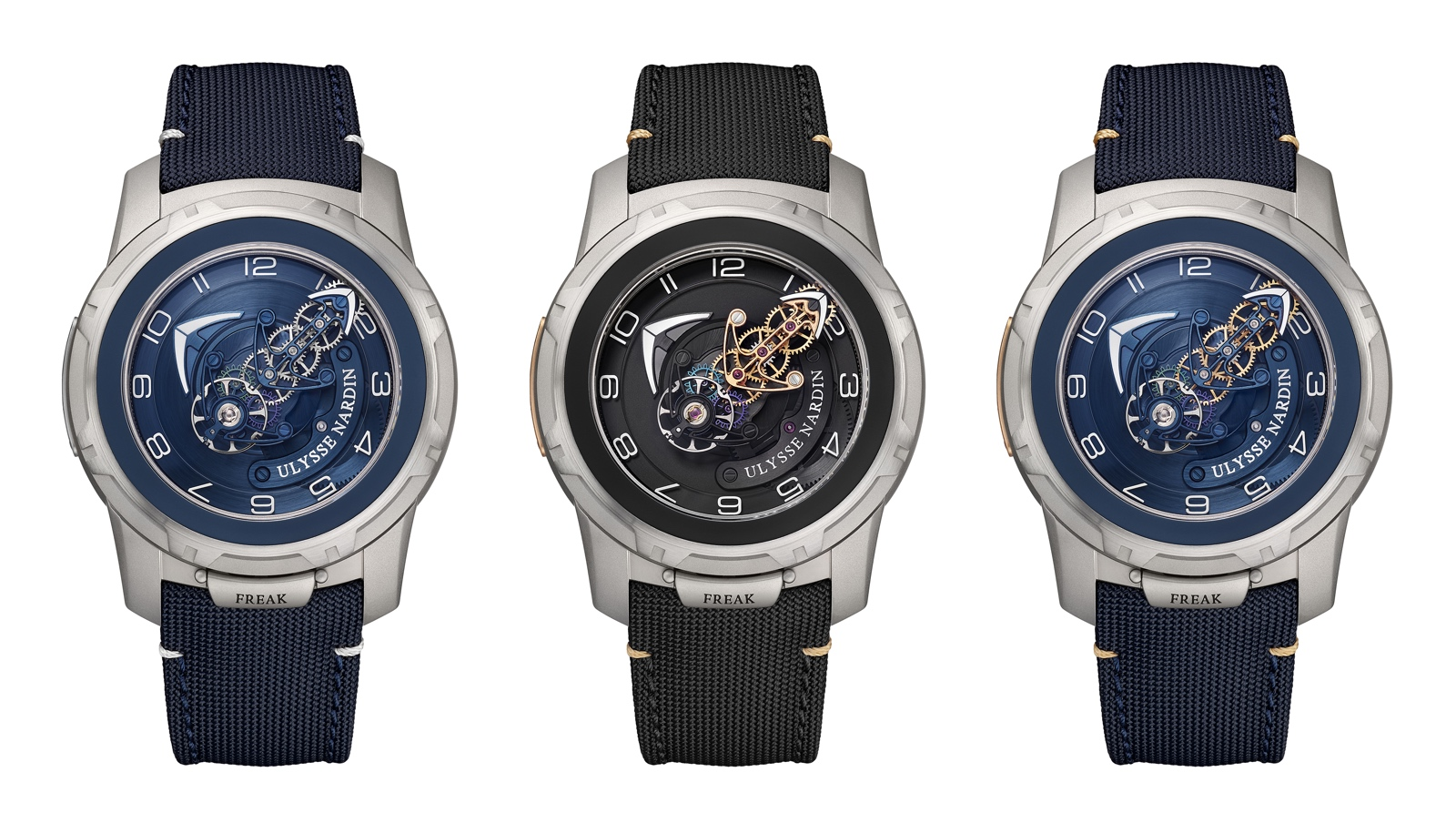 Ulysse Nardin Freak Out - titanium