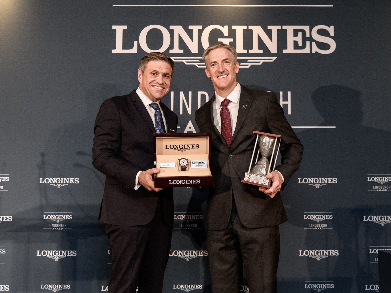 First Longines Lindbergh Award