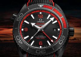 Omega Seamaster Planet Ocean Deep Black Volvo Ocean Race.