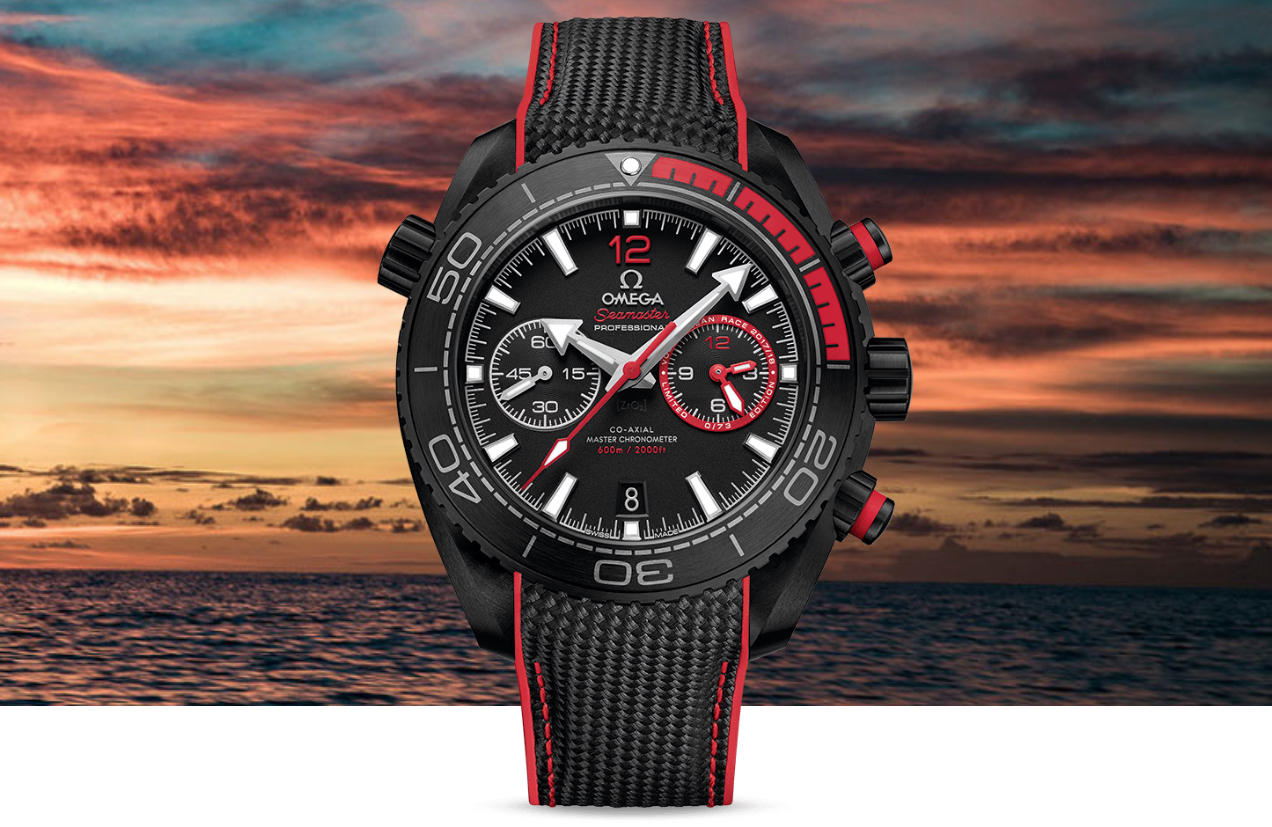Omega Seamaster Planet Ocean Deep Black Volvo Ocean Race Mood