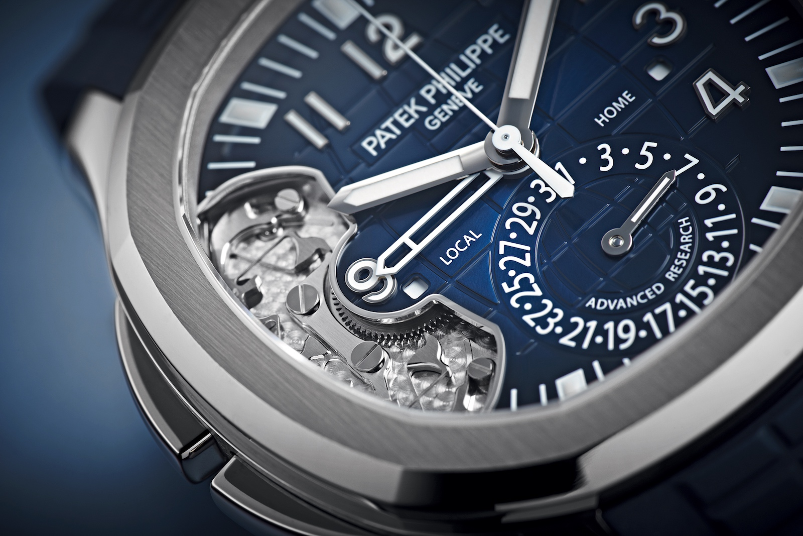 "Relojes Patek Philippe - Aquanaut Travel Time 5650G ""Patek Philippe Advanced Research"""