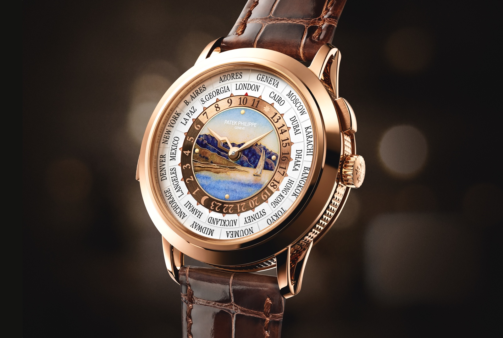 Relojes Patek Philippe - World Time Minute Repeater 5531R